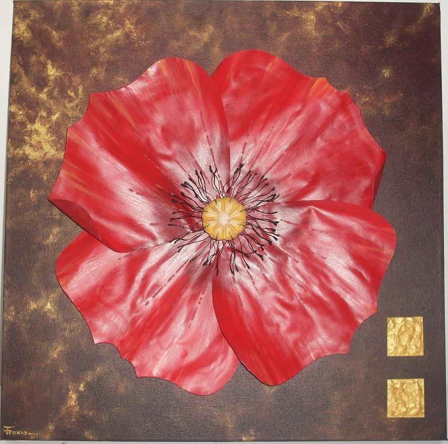 paxia françoise : Rouge ardent