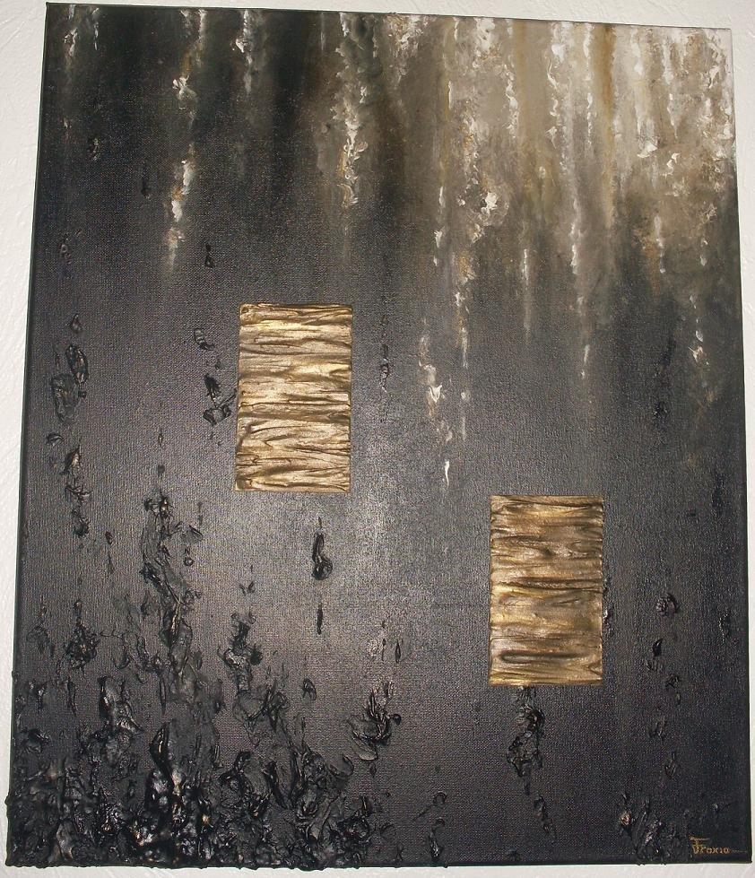 Peinture relief paxia fran oise peintures abstraites - Peinture avec relief ...
