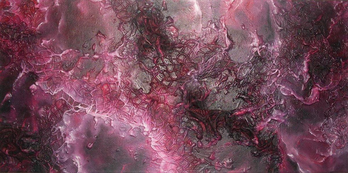Du cosmique au sidéral : dans tableau relief les-turbulences-dune-nebuleuse2